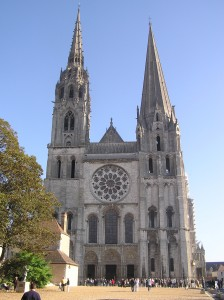 Chartres katedral